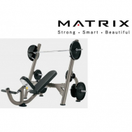 Наклонная скамья для жима Matrix G3-FW11B (G3-FW14)