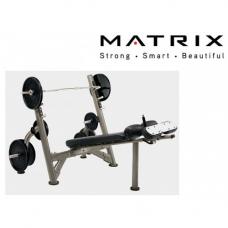 Скамья для жима наклонная Matrix G3-FW12