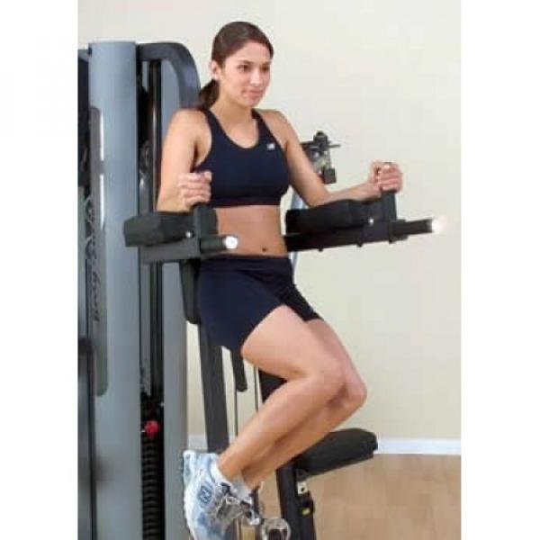 Опция «Поднятие коленей-брусья» BodySolid GKR9 для G9S
