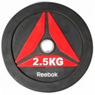 Олимпийский диск для Кроссфит BUMPER 2.5 kg Reebok RSWT-13025