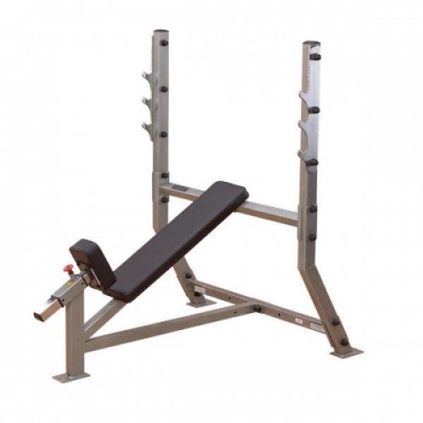 Силовой тренажер для наклонного жима штанги лежа BodySolid SIDG-359