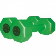 Гантели пластик. цветные 3 кгInter Atletika ST560.3-3