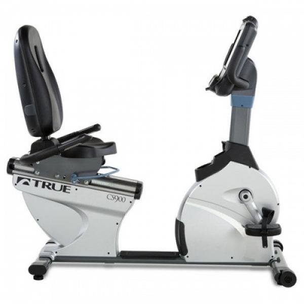 Горизонтальный велотренажер профессиональный True CS900 Transcend 10