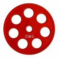 RCP19-25 Цветной диск олимпийский обрезиненный  25 кг