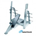 Скамья для жима NAUTILUS® F3OIB Olympic Incline Bench