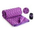 Zp 15-2 Фитнес Коврики полотенце  для йоги (фиолетовый)
