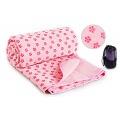 Zp 15-3 Фитнес Коврики полотенце для йоги (розовый)
