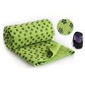 Zp 15-4 Фитнес Коврики полотенце для йоги (зеленый)