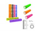 Gl-01-Grid roller Масажный роллер для занятий йогой и пилатесом (EVA,14.5см*61см цвет в асортименти)