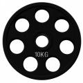 RCP18 - 10 кг Alex Диск олимпийский обрезиненный чёрный
