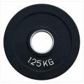 RCP18 - 1,25 кг Alex Диск олимпийский обрезиненный чёрный