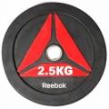 Олимпийский диск для Кроссфит REEBOK BUMPER 2.5 kg RSWT-13025