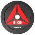 Олимпийский диск для Кроссфит REEBOK BUMPER 5 кг RSWT-13050